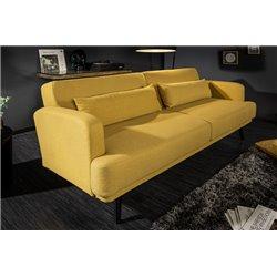 Rozkladacia pohovka Salon 210cm horčicová žltá