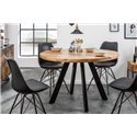 Jedálenský stôl Tango 120 cm okrúhly prírodný mango