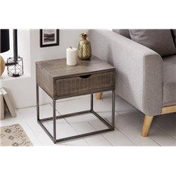 Nočný stolík Tango 45cm šedá akácia