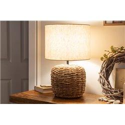 Nočná lampa Nature 47 cm pletená