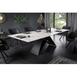 Jedálenský stôl Titan 180-260 cm mramor