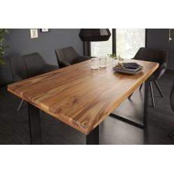 Jedálenský stôl Tango 120 cm sheesham 45mm