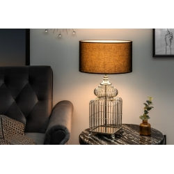 Nočná lampa Mystery 68 cm strieborná