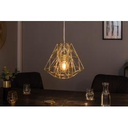 Závesná lampa Mystery S zlatá (4ks)