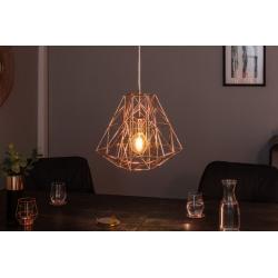 Závesná lampa Mystery S ružové zlato (4ks)