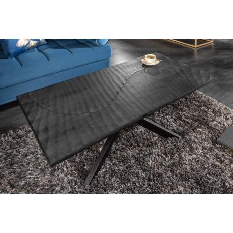 Konferenčný stolík Gobi 110cm mango čierna