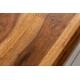 Konferenčný stolík Gobi I 100 cm sheesham prírodná