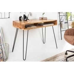 Písací stôl Gobi 100 cm mango prírodná