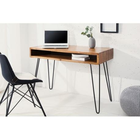 Písací stôl Gobi 110 cm sheesham prírodná