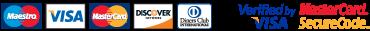 Logo: Akceptované typy platobných kariet